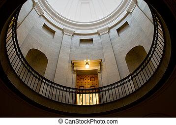 costruzione, cupola, governo
