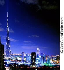 costruzione, dubai, :, 828m., più alto, -, 29, 29, uae., novembre, burj, 2011, mondo, dubai