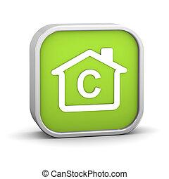 costruzione, efficienza, energia, c, classificazione