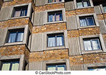 costruzione, esterno