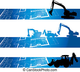 costruzione, fondo