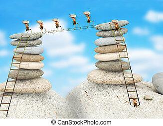 costruzione, formiche