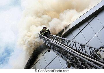 costruzione, fuoco