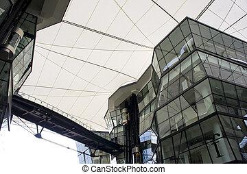 costruzione, futuristico