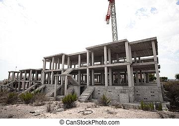 costruzione, incompiuto