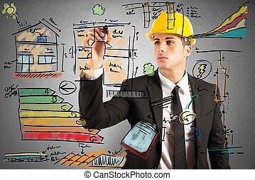 costruzione, ingegnere