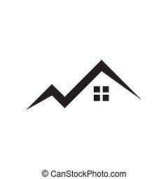 costruzione, logotipo, disegno, proprietà