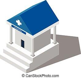 costruzione, medical., ospedale