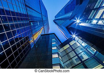 costruzione, moderno, corporativo