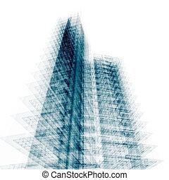 costruzione, moderno