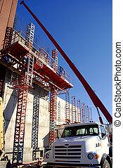 costruzione, nuovo, costruzione