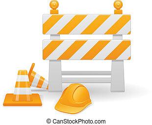costruzione, vettore, immagine