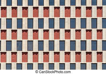costruzione, windows, astratto