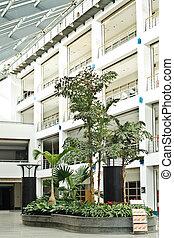 costruzioni, ufficio, zona, foto, moderno, spazi, rilassamento, interno