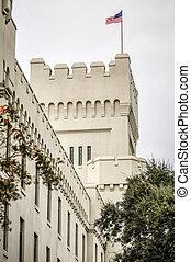 costruzioni, vecchio, capus, charleston, cittadella, ...