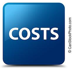 Costs blue square button