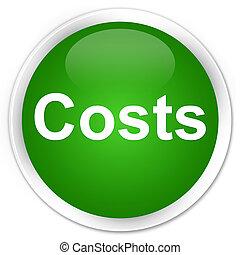 Costs premium green round button