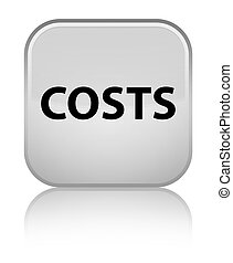 Costs special white square button