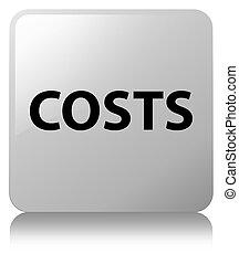 Costs white square button