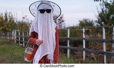 costume halloween, girl, peu