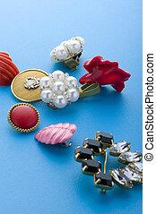 costume jewellery macro