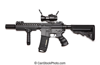 costume, m4a1, assalto, carbine