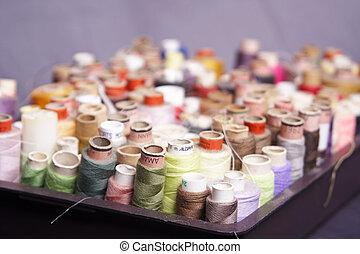 costura, accesorios