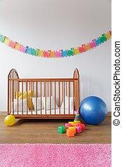 Cosy baby room