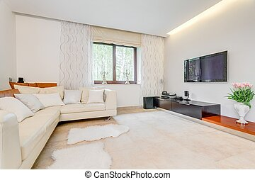 Cosy spacious living room - Picture of cosy spacious living...