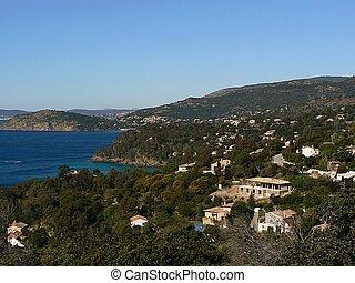 landscape cote d'azur