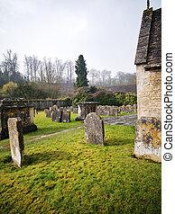 cotswold, cementerio