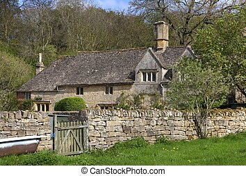 Cotswold home, Gloucestershire - Traditional Cotswold house,...