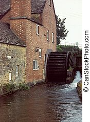 Cotswolds Watermill, England