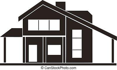 Capannone illustrazioni e clipart for Disegni casa cottage