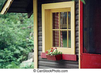 cottage, governo casa