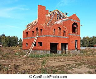 cottage., inacabado