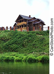 cottage on the river Chusovaya in the Perm region