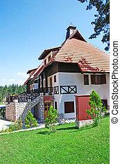 Cottage tiled roof