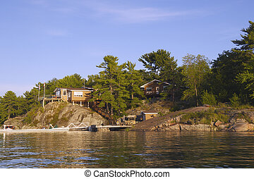 Cottages on Georgian Bay, Ontario