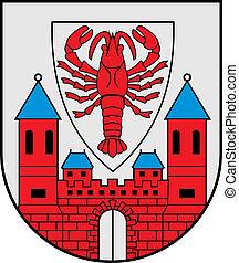 Cottbus city coa - Various vector flags, state symbols, ...
