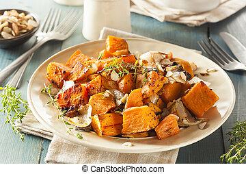 cotto, dolce, casalingo, patata