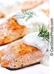 cotto, salmone