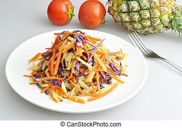 cotto, verdura, delizioso