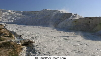 cotton castle Pamukkale 1 - famous place travertine terraces...