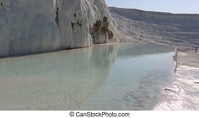 cotton castle Pamukkale 5 - famous place travertine terraces...