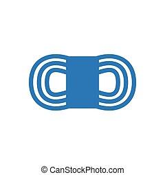 cotton  glyph color icon