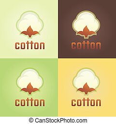 vector tags for clothing template whith cotton vector tags for