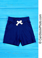 Cotton organic summer shorts for kids.