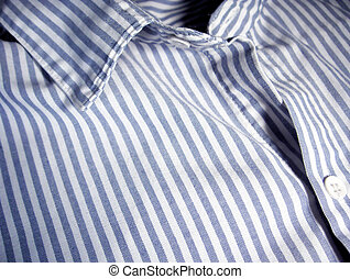Cotton Shirt - Cotton oxford style shirt with macro details