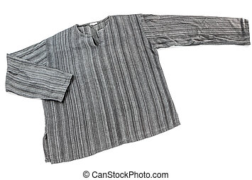 Cotton shirt isolate